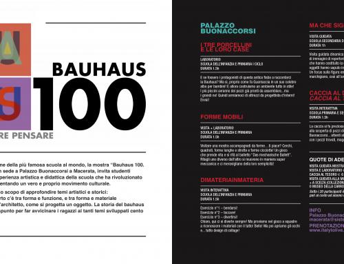 Didattica: #speciale Bauhaus 100!