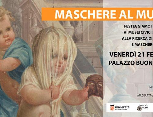 MASCHERE AL MUSEO! Appuntamento per i bimbi a Palazzo Buonaccorsi