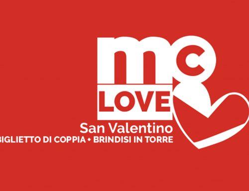 San Valentino  è LOVEMC alla Torre dell'Orologio