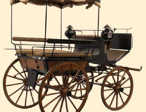 #laculturanonsiferma | La Break-Wagonette del Museo della Carrozza di Macerata