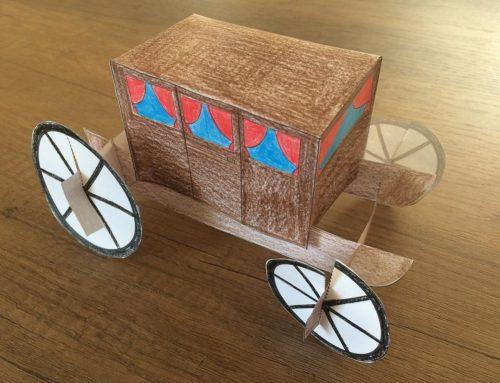 #laculturanonsiferma | Tutorial costruisci la tua carrozza con noi!