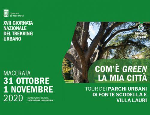 """Trekking Urbano, per la 17^ edizione due giorni """"green"""""""